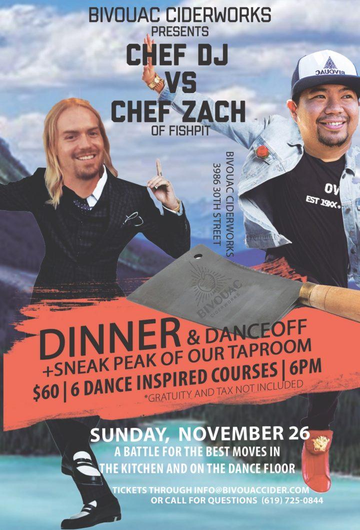Chef DJ & Chef Zach